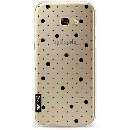 Casetastic Softcover Samsung Galaxy A5 (2017) - Pin Points Polka Black Transparent