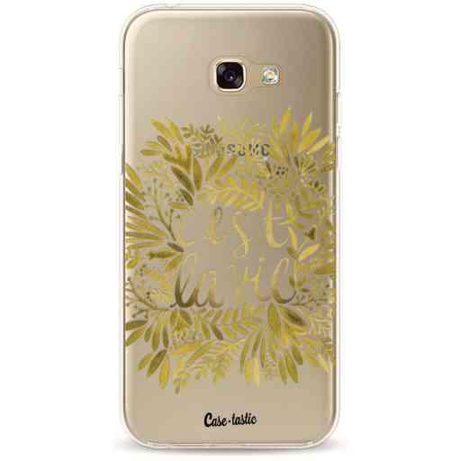 Casetastic Softcover Samsung Galaxy A5 (2017) - Cest La Vie Gold