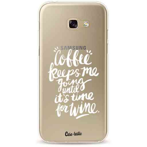 Casetastic Softcover Samsung Galaxy A5 (2017) - Coffee Wine White Transparent
