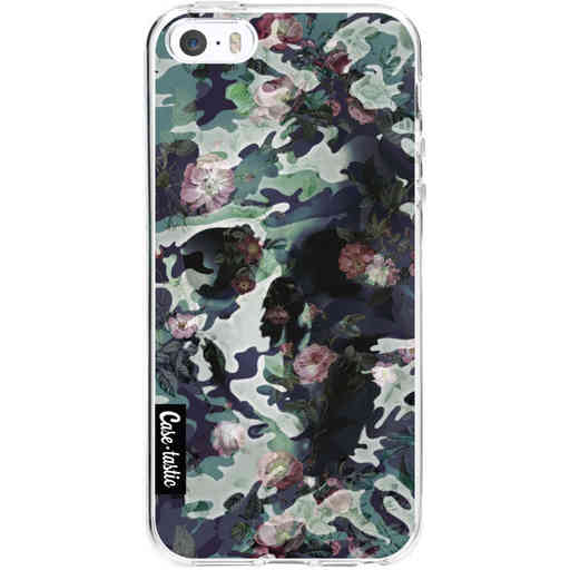 Casetastic Softcover Apple iPhone 5 / 5s / SE - Army Skull