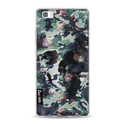 Casetastic Softcover Huawei P8 Lite (2015) - Army Skull