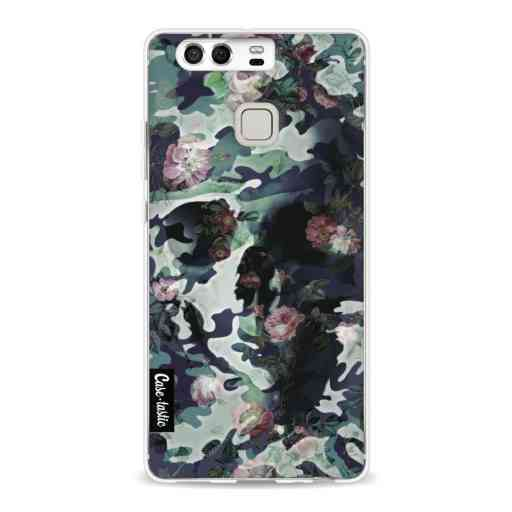 Casetastic Softcover Huawei P9  - Army Skull