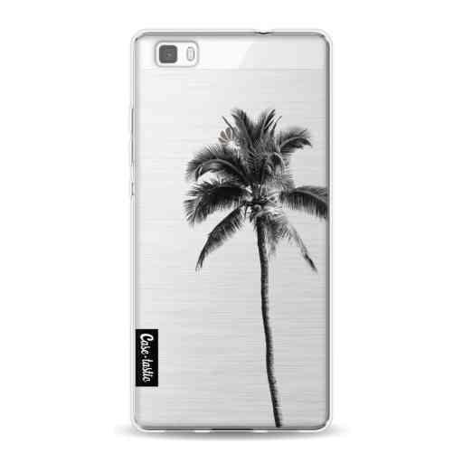 Casetastic Softcover Huawei P8 Lite (2015) - Palm Tree Transparent