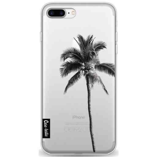 Casetastic Softcover Apple iPhone 7 Plus / 8 Plus - Palm Tree Transparent