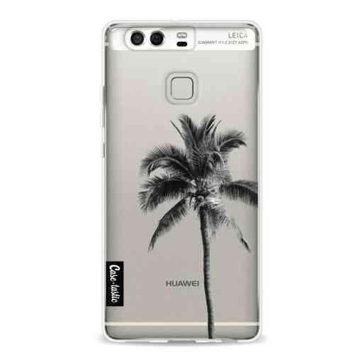Casetastic Softcover Huawei P9  - Palm Tree Transparent