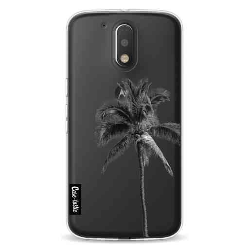 Casetastic Softcover Motorola Moto G4 / G4 Plus - Palm Tree Transparent