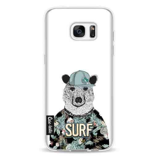 Casetastic Softcover Samsung Galaxy S7 Edge - Surf Bear