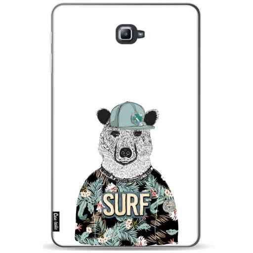 Casetastic Softcover Samsung Galaxy Tab A 10.1 (2016) - Surf Bear