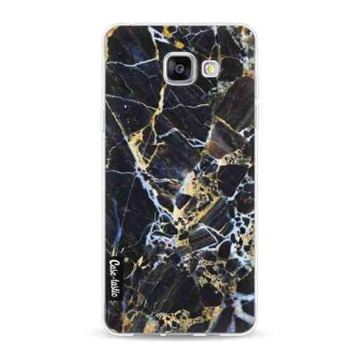 Casetastic Softcover Samsung Galaxy A5 (2016) - Black Gold Marble