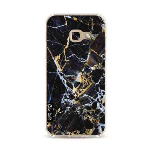 Casetastic Softcover Samsung Galaxy A3 (2017) - Black Gold Marble