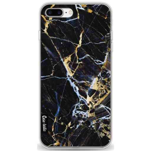 Casetastic Softcover Apple iPhone 7 Plus / 8 Plus - Black Gold Marble