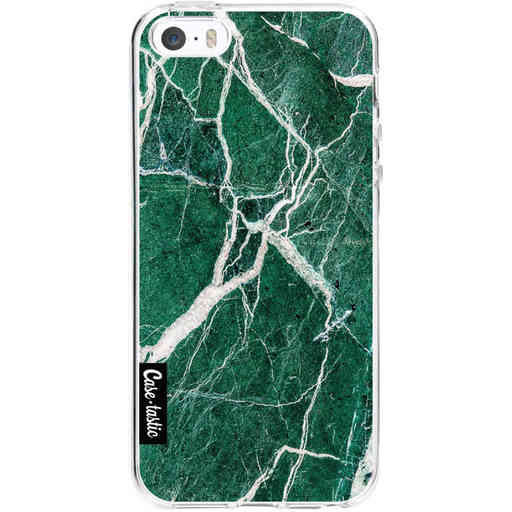 Casetastic Softcover Apple iPhone 5 / 5s / SE - Dark Green Marble