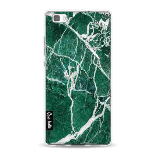 Casetastic Softcover Huawei P8 Lite (2015) - Dark Green Marble