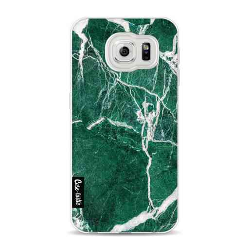 Casetastic Softcover Samsung Galaxy S6 - Dark Green Marble
