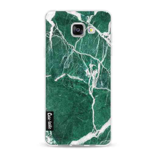 Casetastic Softcover Samsung Galaxy A5 (2016) - Dark Green Marble