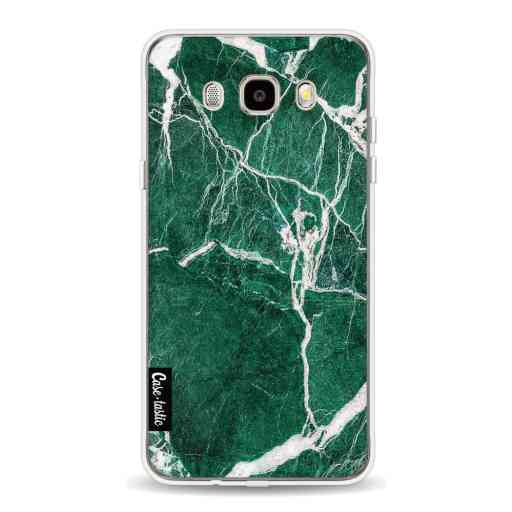 Casetastic Softcover Samsung Galaxy J5 (2016) - Dark Green Marble