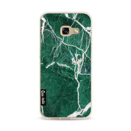 Casetastic Softcover Samsung Galaxy A3 (2017) - Dark Green Marble