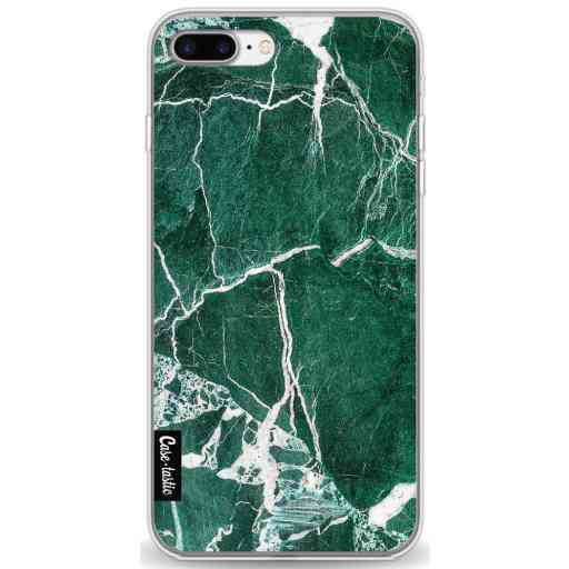 Casetastic Softcover Apple iPhone 7 Plus / 8 Plus - Dark Green Marble