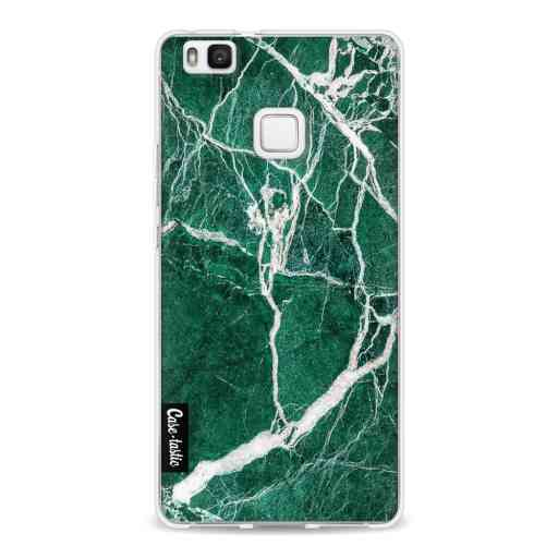 Casetastic Softcover Huawei P9 Lite - Dark Green Marble