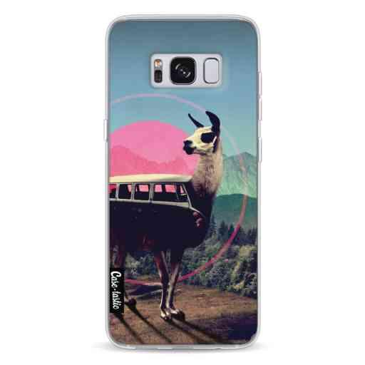 Casetastic Softcover Samsung Galaxy S8 - Llama