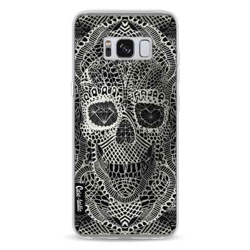 Casetastic Softcover Samsung Galaxy S8 - Lace Skull