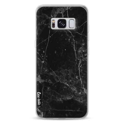 Casetastic Softcover Samsung Galaxy S8 - Black Marble