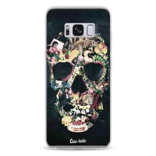 Casetastic Softcover Samsung Galaxy S8 - Vintage Skull