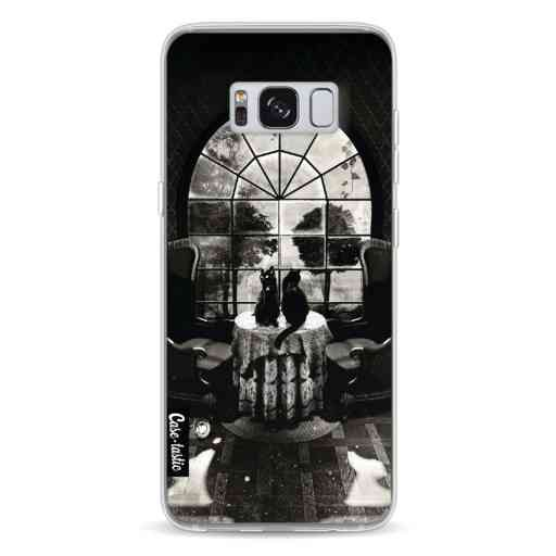Casetastic Softcover Samsung Galaxy S8 - Room Skull BW