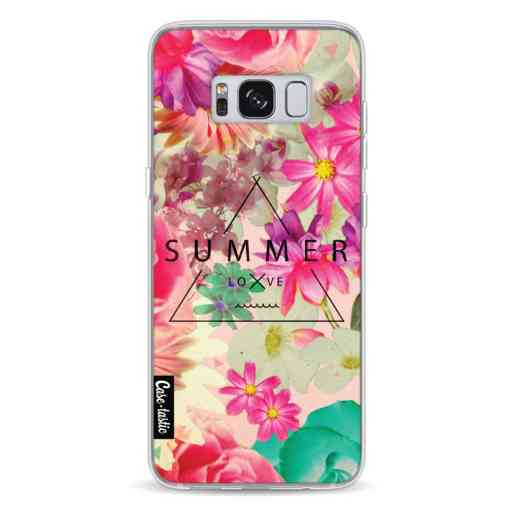 Casetastic Softcover Samsung Galaxy S8 - Summer Love Flowers