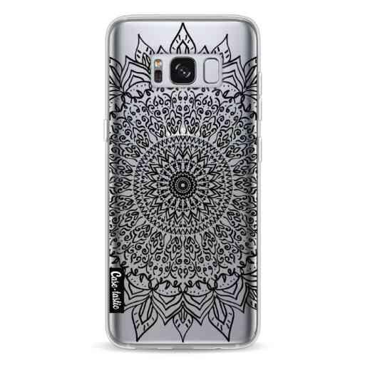 Casetastic Softcover Samsung Galaxy S8 - Black Mandala