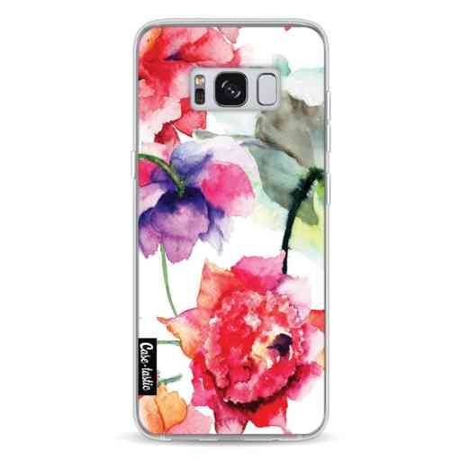 Casetastic Softcover Samsung Galaxy S8 - Watercolor Flowers