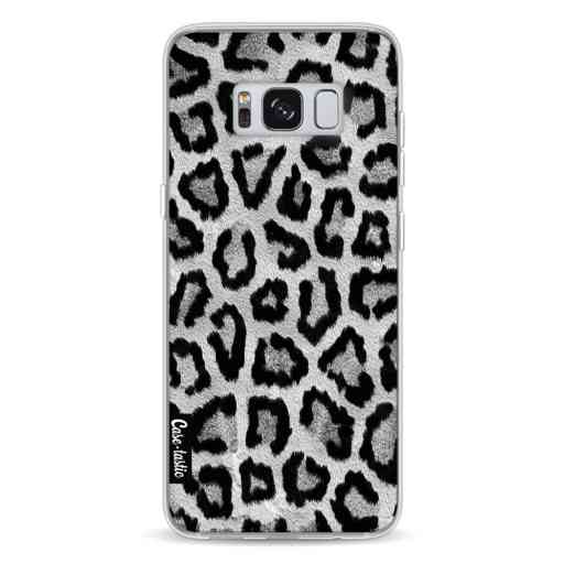 Casetastic Softcover Samsung Galaxy S8 - Grey Leopard
