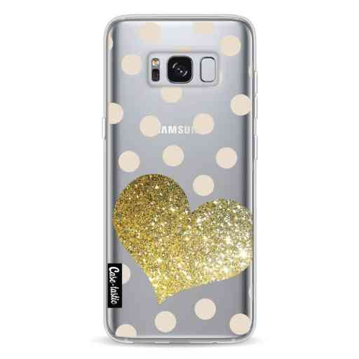 Casetastic Softcover Samsung Galaxy S8 - Glitter Heart