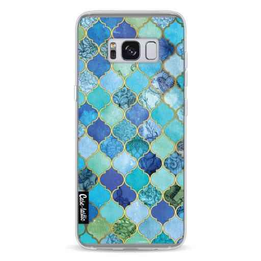 Casetastic Softcover Samsung Galaxy S8 - Aqua Moroccan Tiles