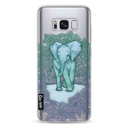 Casetastic Softcover Samsung Galaxy S8 - Emerald Elephant