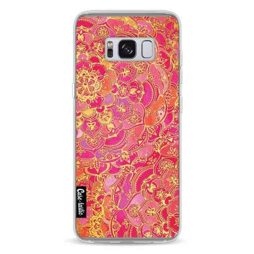 Casetastic Softcover Samsung Galaxy S8 - Hot Pink Barroque