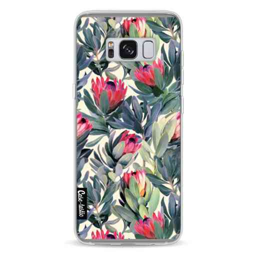 Casetastic Softcover Samsung Galaxy S8 - Painted Protea