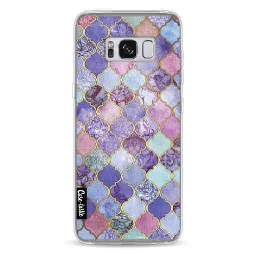 Casetastic Softcover Samsung Galaxy S8 - Purple Moroccan Tiles
