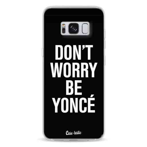 Casetastic Softcover Samsung Galaxy S8 - Don't Worry Beyoncé