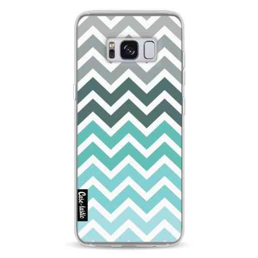 Casetastic Softcover Samsung Galaxy S8 - Tiffany Fade Chevron