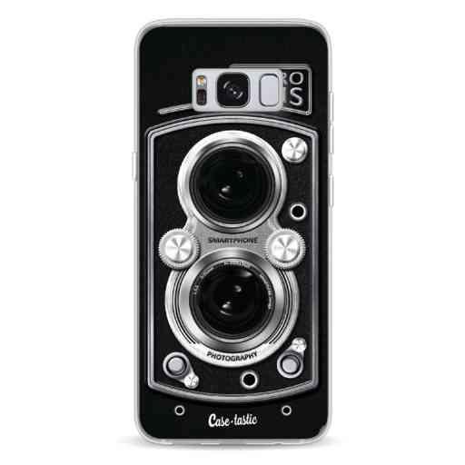 Casetastic Softcover Samsung Galaxy S8 - Camera Retro Lens
