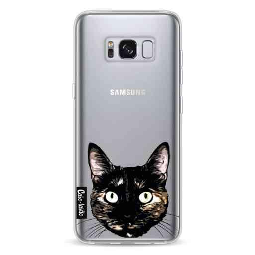 Casetastic Softcover Samsung Galaxy S8 - Peeking Kitty