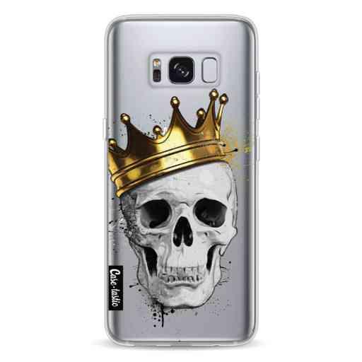 Casetastic Softcover Samsung Galaxy S8 - Royal Skull