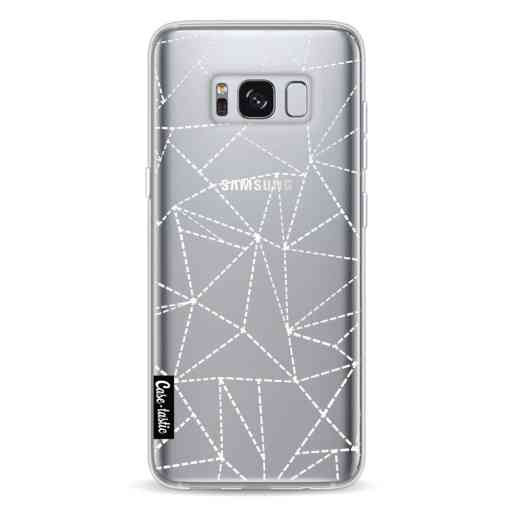 Casetastic Softcover Samsung Galaxy S8 - Abstract Dotted Lines Transparent