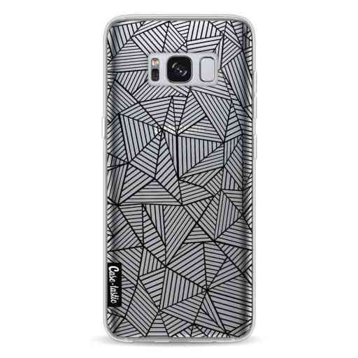 Casetastic Softcover Samsung Galaxy S8 - Abstraction Lines Transparent