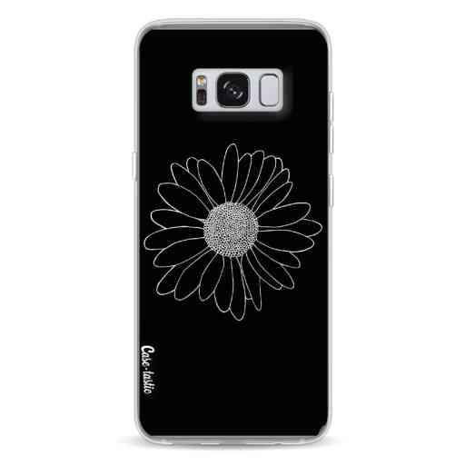 Casetastic Softcover Samsung Galaxy S8 - Daisy Black