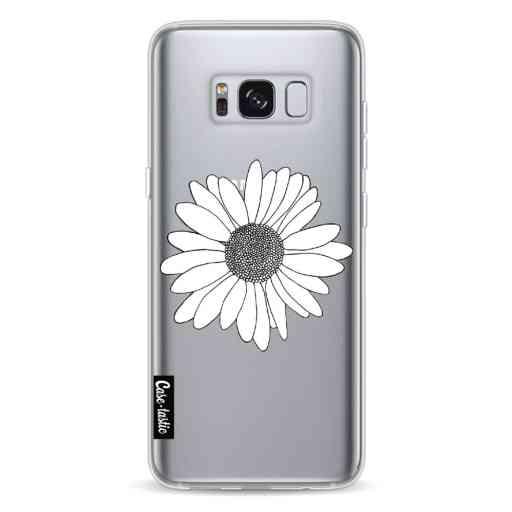 Casetastic Softcover Samsung Galaxy S8 - Daisy Transparent