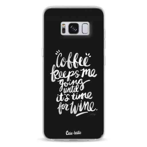 Casetastic Softcover Samsung Galaxy S8 - Coffee Wine White