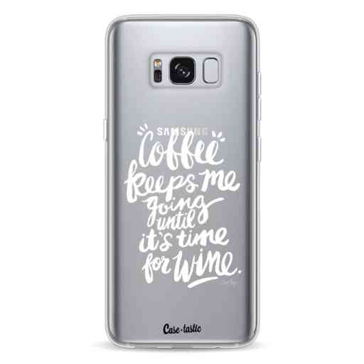 Casetastic Softcover Samsung Galaxy S8 - Coffee Wine White Transparent