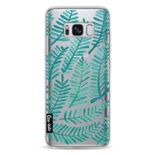 Casetastic Softcover Samsung Galaxy S8 - Turquoise Fronds